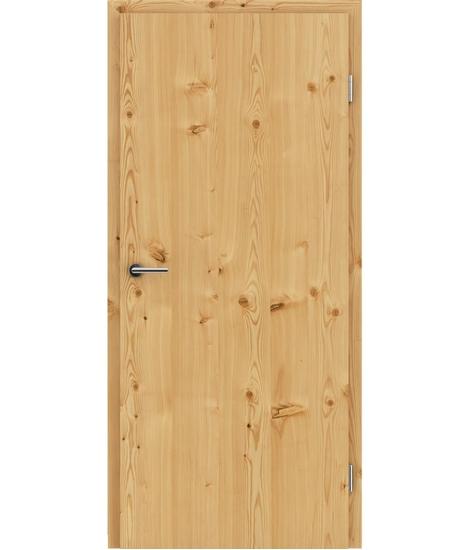 Furnirana unutrašnja vrata s uspravnom strukturom GREENline - ariš grča brušeni natur lakirani