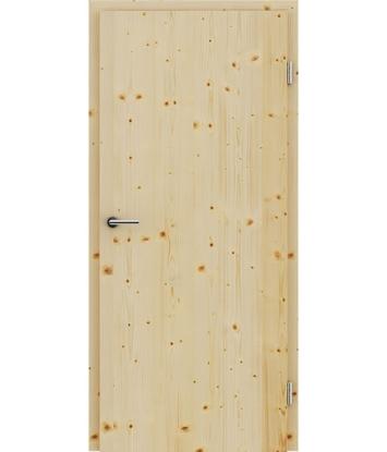 Furnirana unutrašnja vrata s uspravnom strukturom GREENline - smreka grča
