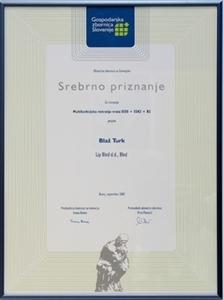 Picture of GZS - Srebrna nagrada za naj inovaciju Gorenjske 2007.