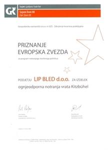 Picture of 1. nagrada Europska zvijezda 2008 za vrata Kitzbühl