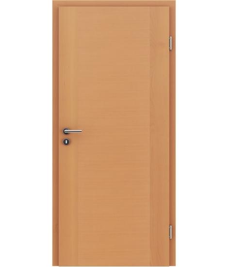 Furnirana unutrašnja vrata s uspravnom i/ili poprečnom strukturom VIVACEline - F1 bukva lakirana