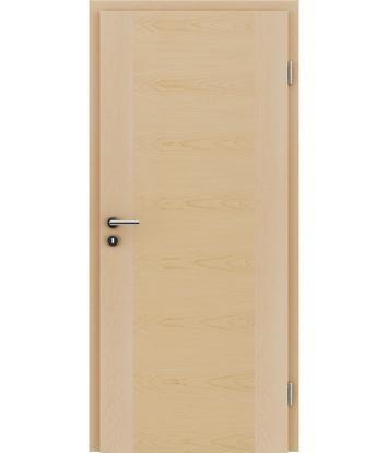 Furnirana unutrašnja vrata s uspravnom i/ili poprečnom strukturom VIVACEline - F1 javor