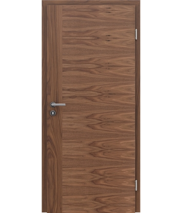 Furnirana unutrašnja vrata s uspravnom i/ili poprečnom strukturom VIVACEline - F3 orah