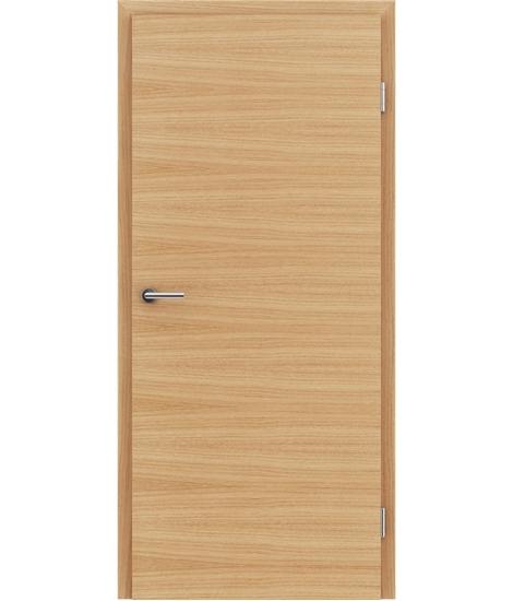 Furnirana unutrašnja vrata s uspravnom i/ili poprečnom strukturom VIVACEline - F4 europski natur lakirani