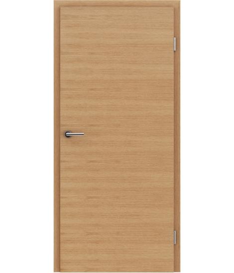 Furnirana unutrašnja vrata s uspravnom i/ili poprečnom strukturom VIVACEline - F4 hrast europski uljeni