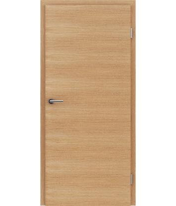 Furnirana unutrašnja vrata s uspravnom i/ili poprečnom strukturom VIVACEline - F4 hrast europski brušeni uljeni