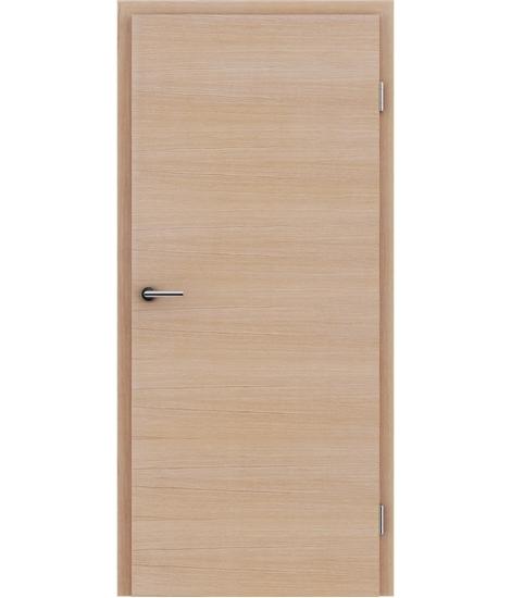 Furnirana unutrašnja vrata s uspravnom i/ili poprečnom strukturom VIVACEline - F4  hrast europski brušeni bijeli uljeni