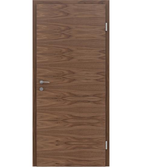 Furnirana unutrašnja vrata s uspravnom i/ili poprečnom strukturom VIVACEline - F4 orah