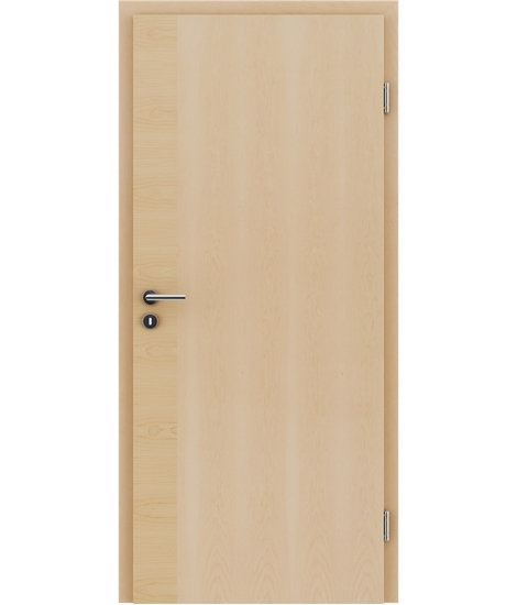 Furnirana unutrašnja vrata s uspravnom i/ili poprečnom strukturom VIVACEline - F12 javor