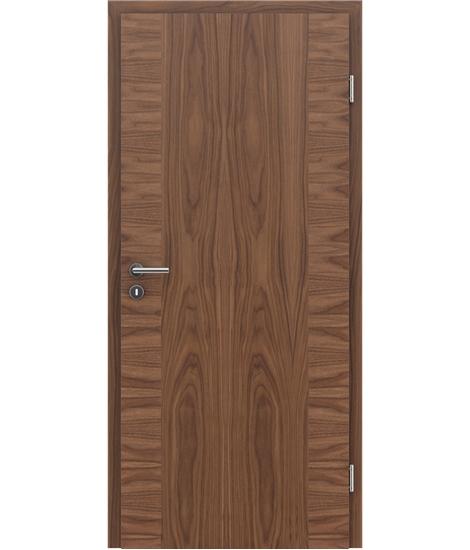 Furnirana unutrašnja vrata s uspravnom i/ili poprečnom strukturom VIVACEline - F14 orah