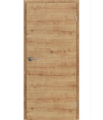 CPL unutrašnja vrata TOPline - L1 DYNAMIC hrast grča 3D