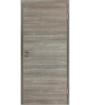 CPL unutrašnja vrata TOPline - L1 hrast sivi