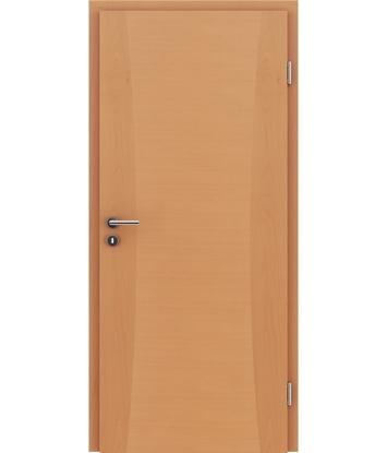 Furnirana unutrašnja vrata s intarzijskim umetcima HIGHline - I13 bukva