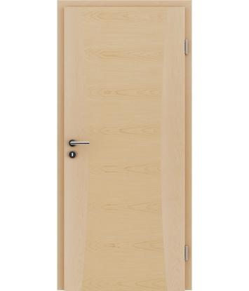 Furnirana unutrašnja vrata s intarzijskim umetcima HIGHline - I13 javor