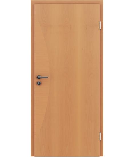 Furnirana unutrašnja vrata s intarzijskim umetcima HIGHline - I3 bukva, intarzijski umetak bukve