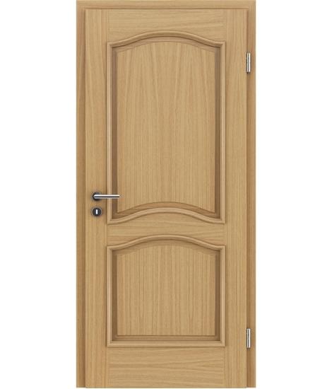 Furnirana unutrašnja vrata s ukrasnim letvicama - NAPOLEON STILline - SNC hrast europski