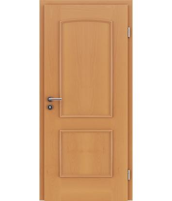 Picture of Furnirana unutrašnja vrata s ukrasnim letvicama STILline - SOA bukva