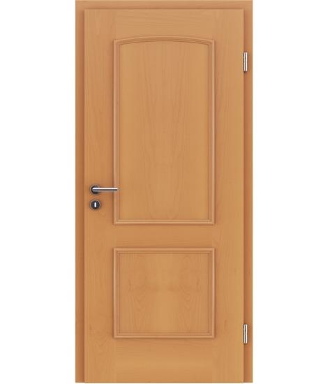 Furnirana unutrašnja vrata s ukrasnim letvicama STILline - SOA bukva