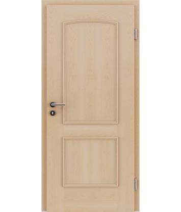 Furnirana unutrašnja vrata s ukrasnim letvicama STILline - SOA javor