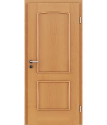Furnirana unutrašnja vrata s ukrasnim letvicama STILline - SOAD bukva