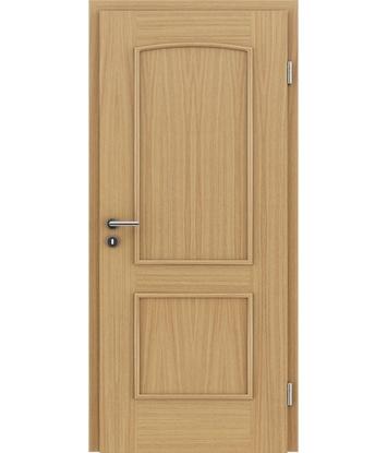 Picture of Furnirana unutrašnja vrata s ukrasnim letvicama STILline - SOAD hrast europski
