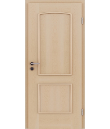 Picture of Furnirana unutrašnja vrata s ukrasnim letvicama STILline - SOAD javor