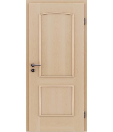Furnirana unutrašnja vrata s ukrasnim letvicama STILline - SOAD javor