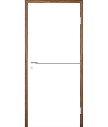 Bijelo obojena unutrašnja vrata s utorima COLORline - MODENA R37L
