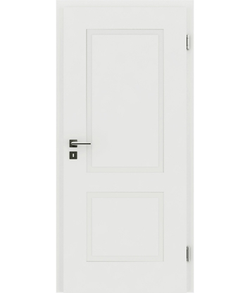 Picture of bijelo obojena unutrašnja vrata s reljefima KAISERline - R38L bijelo obojan