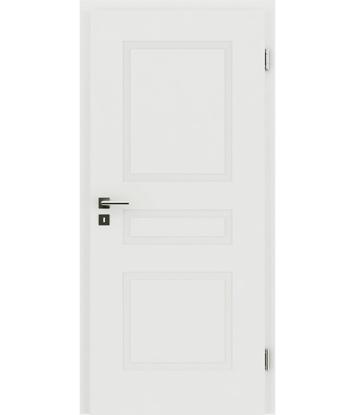 Picture of bijelo obojena unutrašnja vrata s reljefima KAISERline - R39L bijelo obojan
