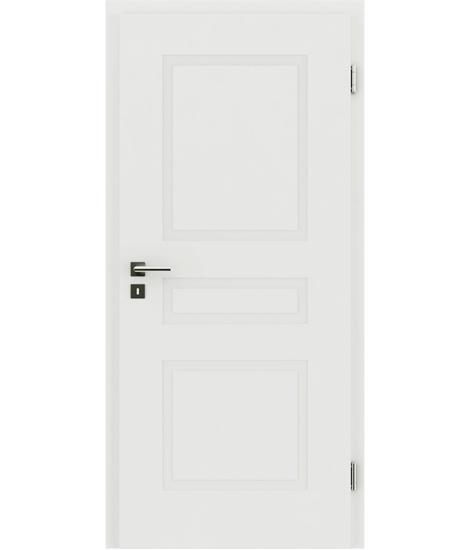 bijelo obojena unutrašnja vrata s reljefima KAISERline - R39L bijelo obojan