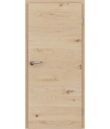 Picture of Furnirana unutrašnja vrata s uspravnom i/ili poprečnom strukturom VIVACEline - F4 hrast grča bijeli uljeni