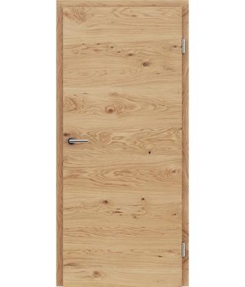 Furnirana unutrašnja vrata s uspravnom i/ili poprečnom strukturom VIVACEline - F4 hrast grča natur lakirani