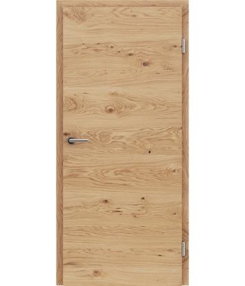 Picture of Furnirana unutrašnja vrata s uspravnom i/ili poprečnom strukturom VIVACEline - F4 hrast grča natur lakirani