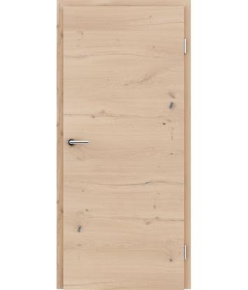 Furnirana unutrašnja vrata s uspravnom i/ili poprečnom strukturom VIVACEline - F4 hrast grča pukotina bijeli uljeni