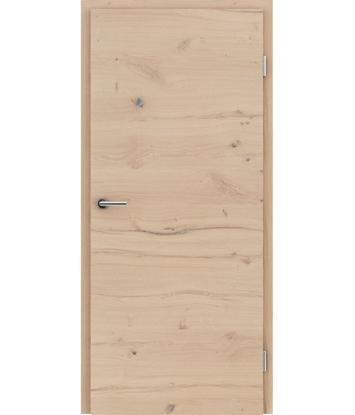 Picture of Furnirana unutrašnja vrata s uspravnom i/ili poprečnom strukturom VIVACEline - F4 hrast grča pukotina brušeni bijeli uljeni