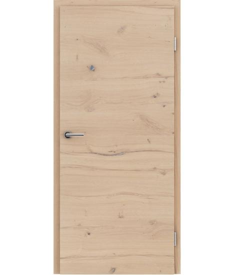 Furnirana unutrašnja vrata s uspravnom i/ili poprečnom strukturom VIVACEline - F4 hrast grča pukotina brušeni bijeli uljeni