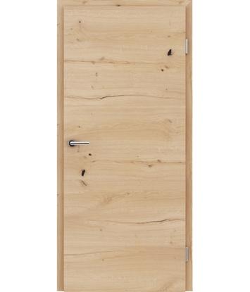 Picture of Furnirana unutrašnja vrata s uspravnom i/ili poprečnom strukturom VIVACEline - F4 hrast grča pukotina brušeni uljeni