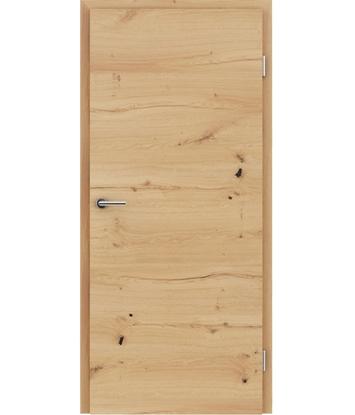 Picture of Furnirana unutrašnja vrata s uspravnom i/ili poprečnom strukturom VIVACEline - F4 hrast grča pukotina uljeni