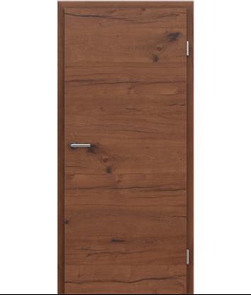 Picture of Furnirana unutrašnja vrata s uspravnom i/ili poprečnom strukturom VIVACEline PRESTIGE - F4 hrast Altholz uljeni