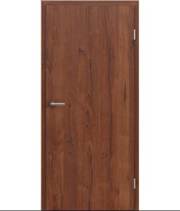 Picture of Furnirana unutrašnja vrata s uspravnom strukturom GREENline PRESTIGE - hrast Altholz mat lakirani