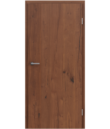 Furnirana unutrašnja vrata s uspravnom strukturom GREENline PRESTIGE - hrast Altholz uljeni